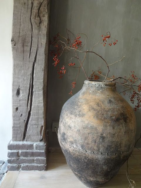 Wabi-sabi embraces natural flaws.  Image via Pinterest.