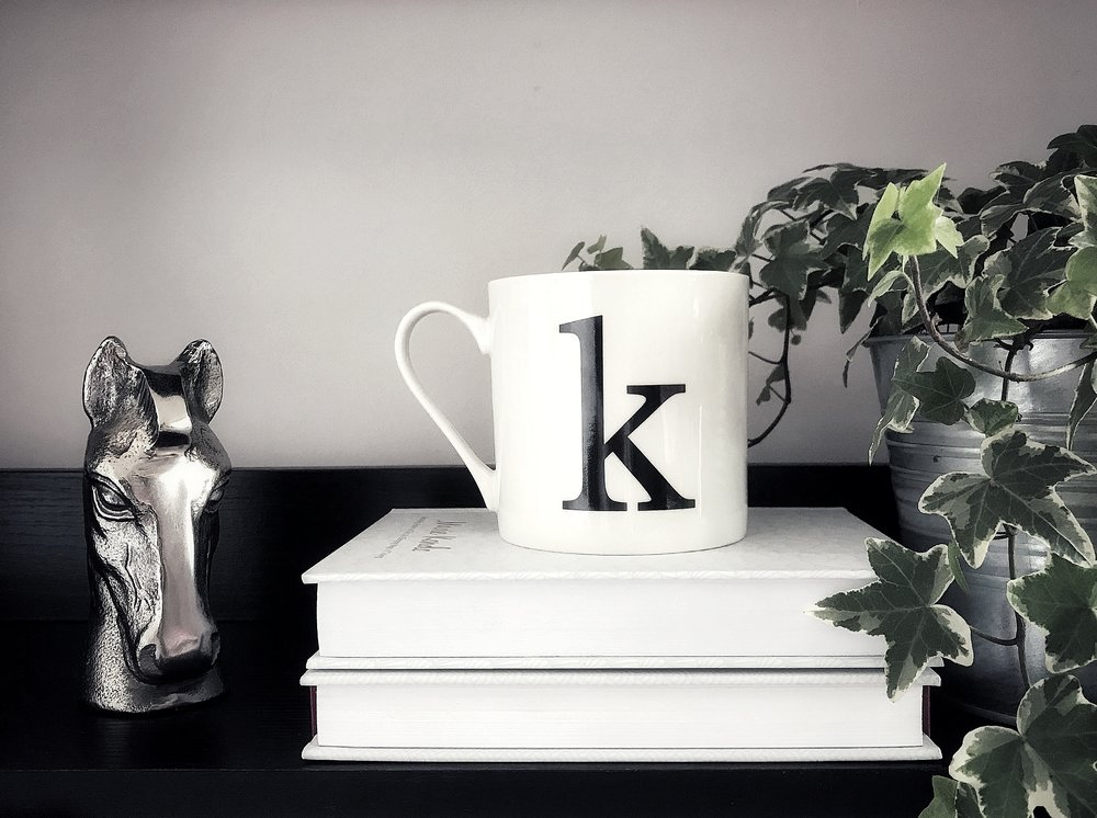Initial mug, £2 - Matalan. Photo ©KerryHussain2018