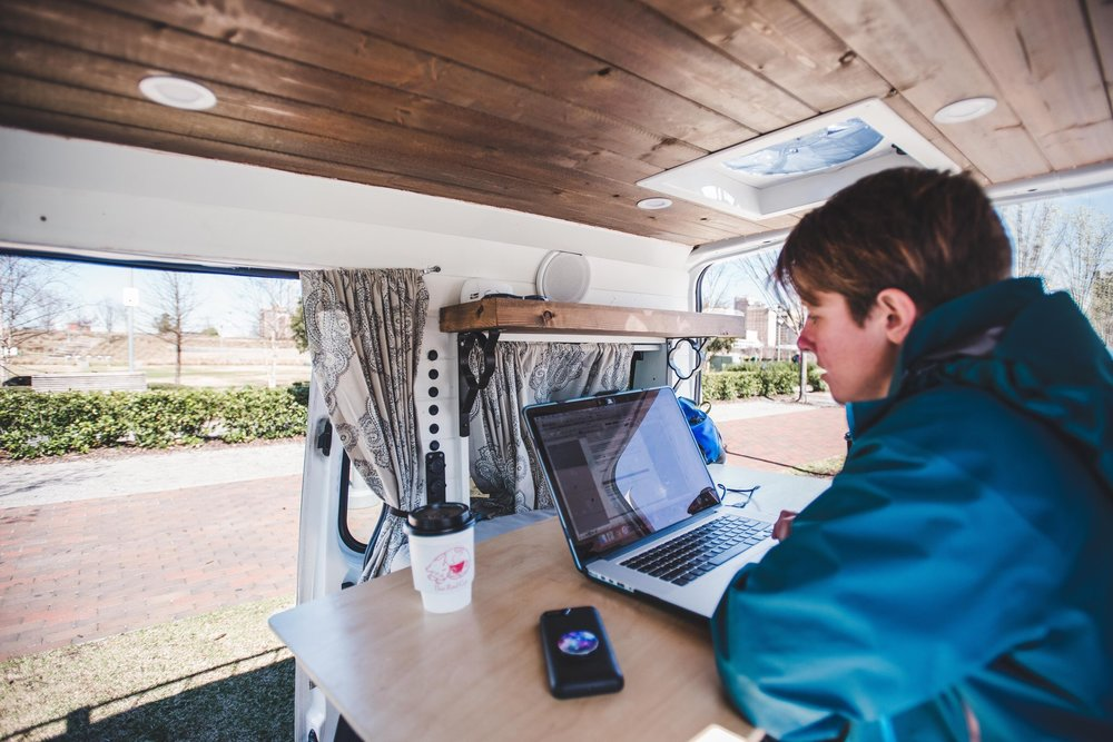 Vanlife Work