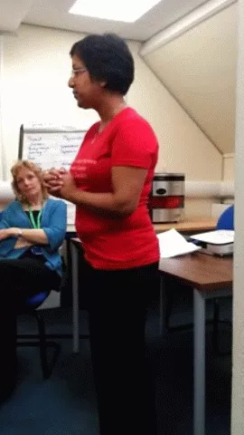 SPEAKING AT THE NHS, LONDON