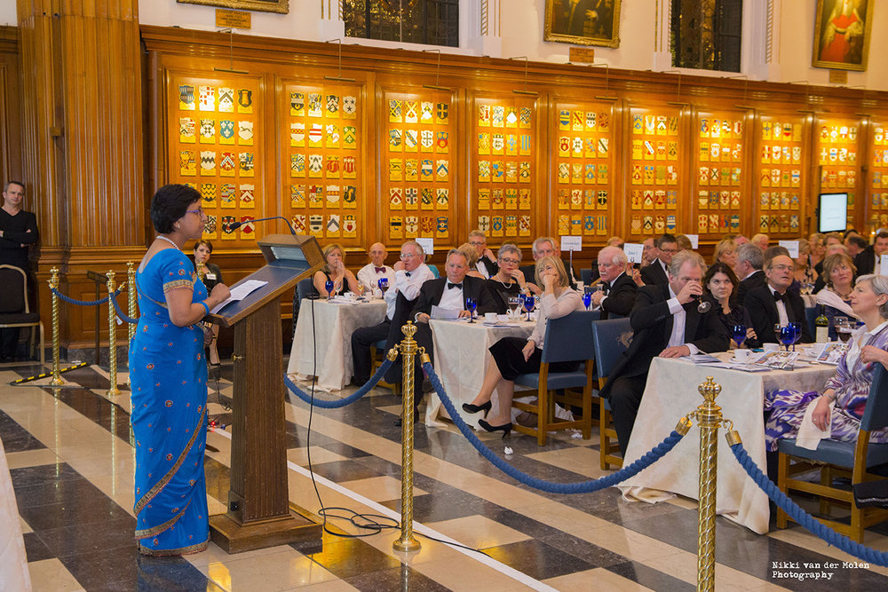 SPEAKING AT THE HONORABLE SOCIETY OF INNER TEMPLE  , LONDON