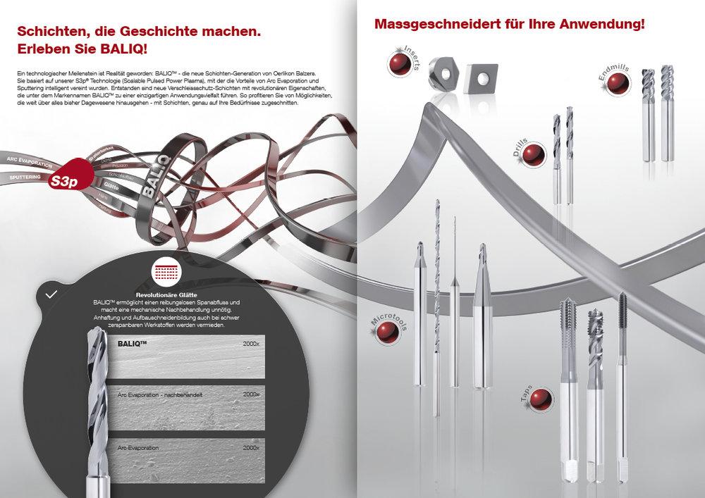 Broschüre Oerlikon Balzers - BALIQ 2
