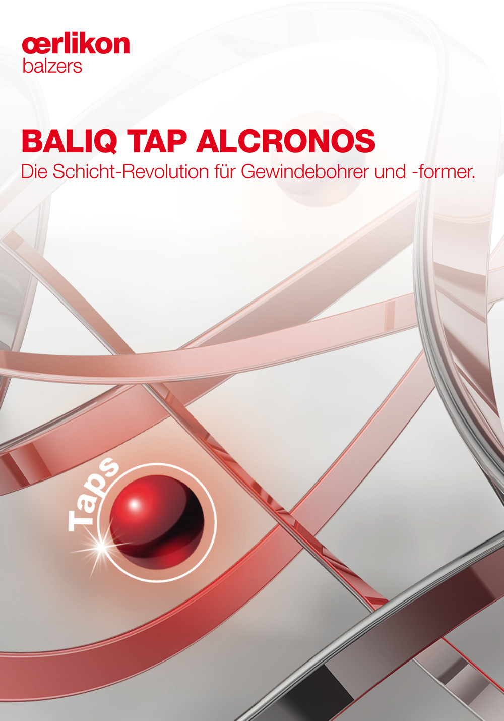 Broschüre Oerlikon Balzers - BALIQ Tap Alcronos 1