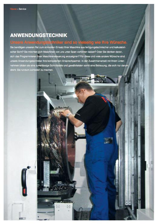 Mazak Werkzeugmaschinen - Broschüre 7