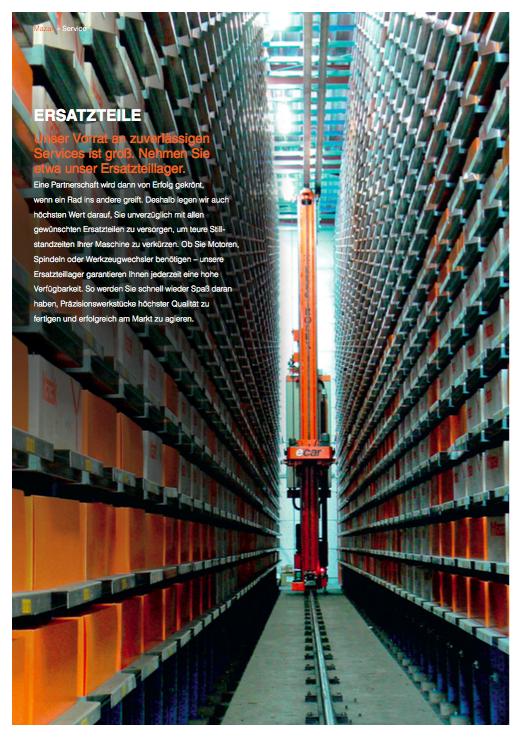 Mazak Werkzeugmaschinen - Broschüre 6