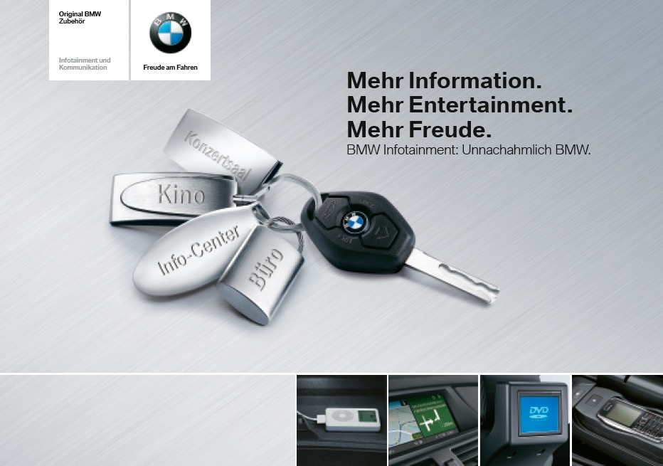 Infotainment Flyer BMW 1