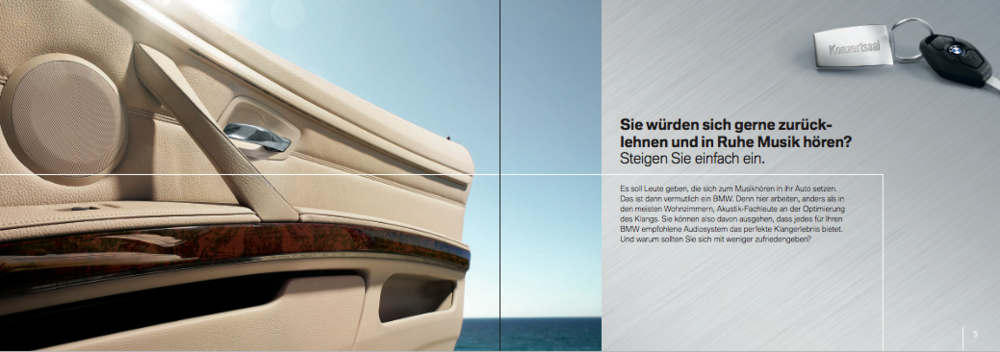 Infotainment Flyer BMW 3