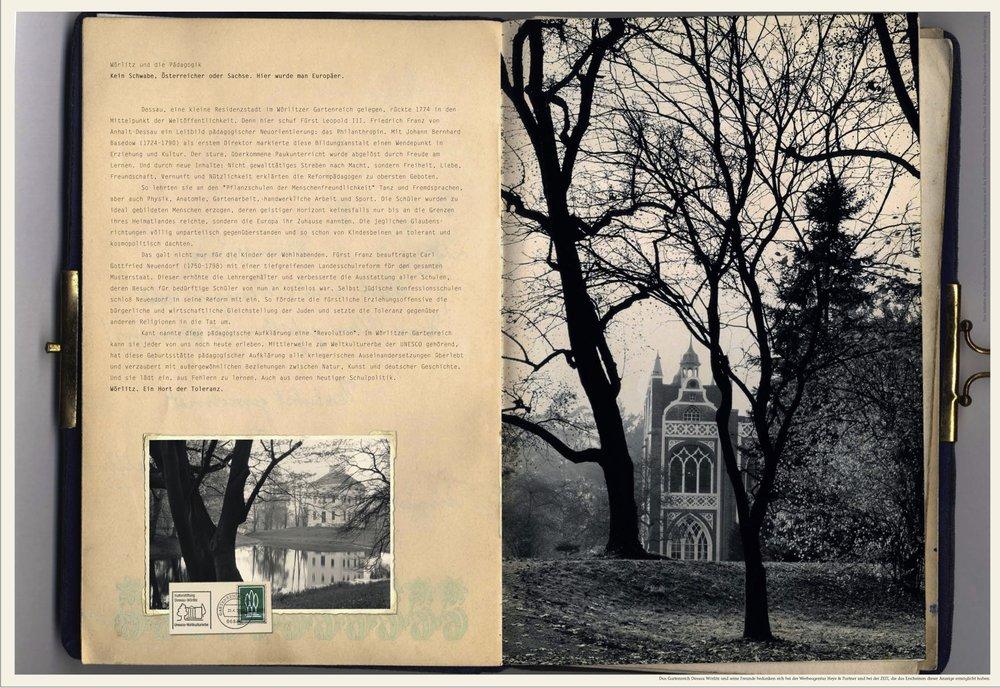 Gartenreich Dessau-Wörlitz - Anzeige