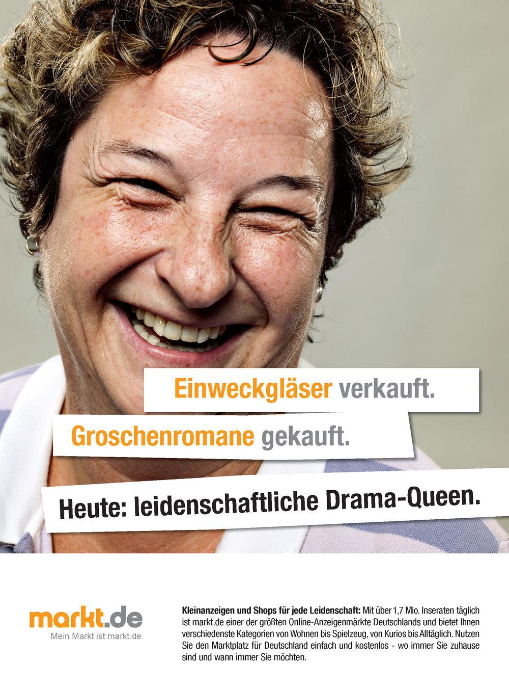Anzeige markt.de - Drama Queen