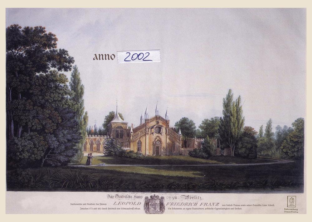 Gartenreich Dessau Wörlitz - Anzeige 2