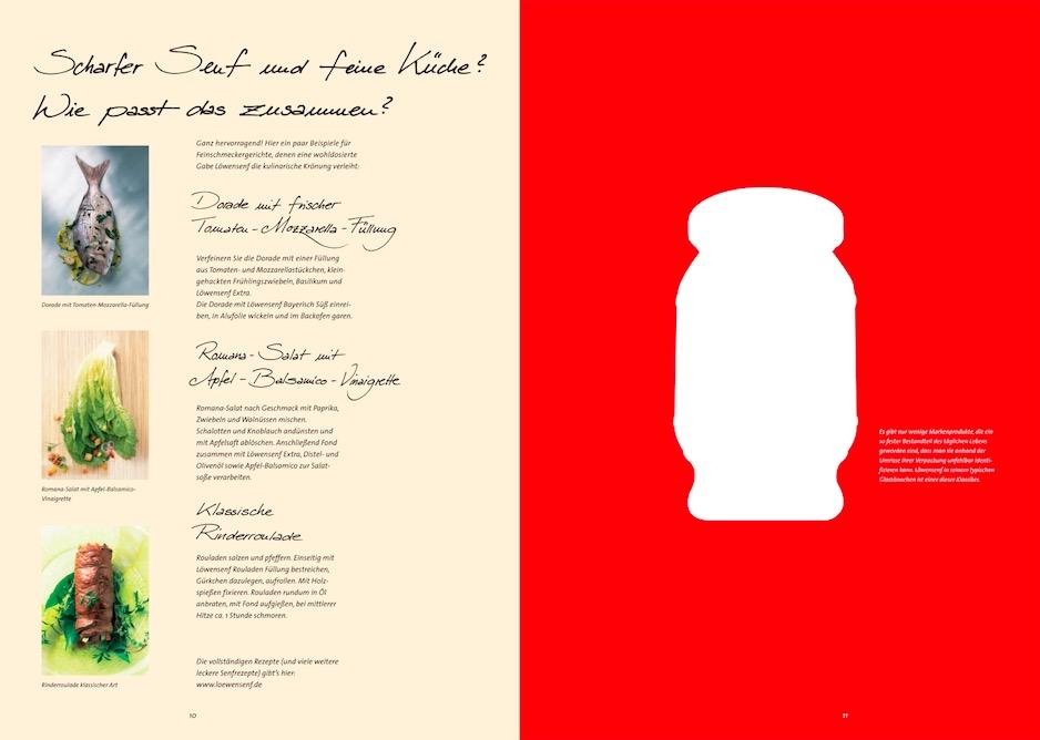 Löwensenf Imagebroschüre 5