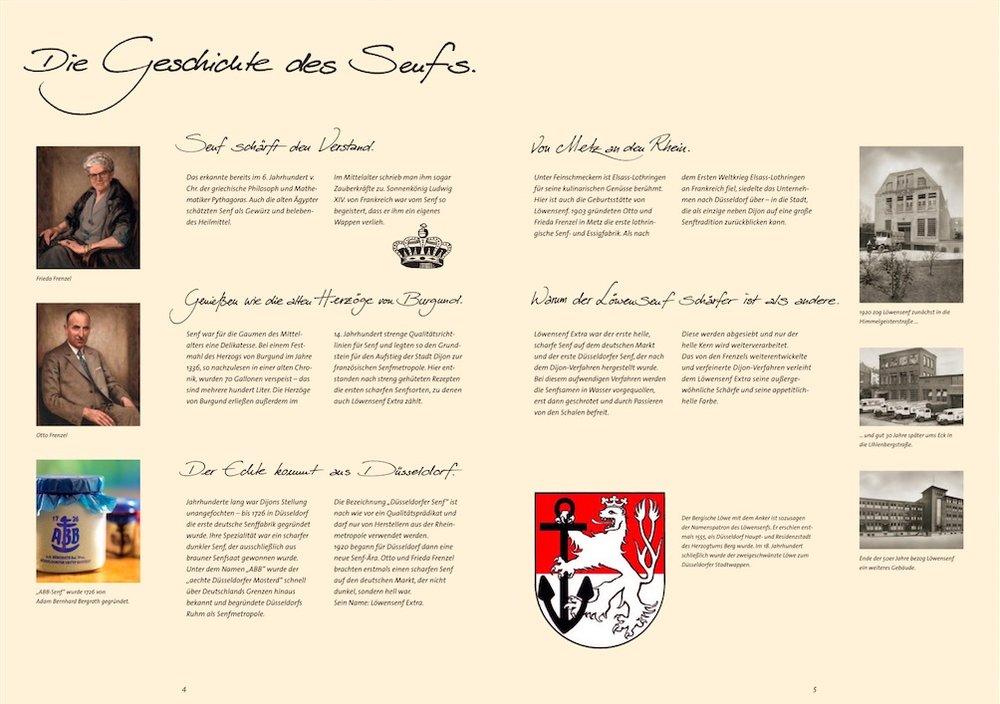 Löwensenf Imagebroschüre 3