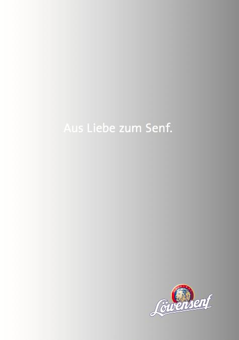 Löwensenf Imagebroschüre 1