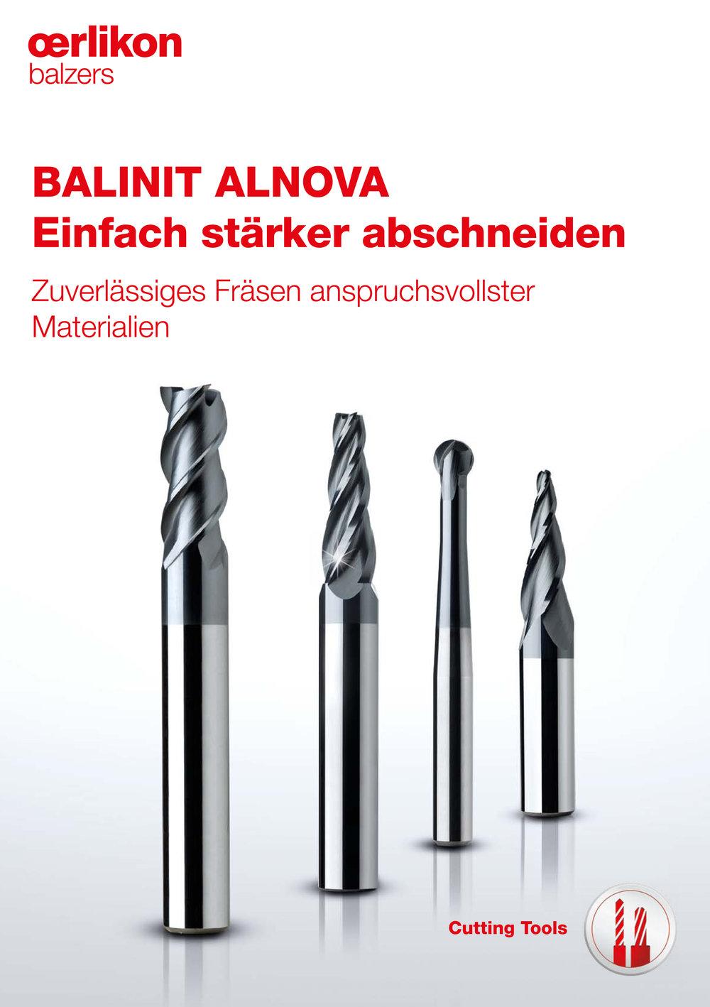 Produktbroschüre BALINIT ALNOVA - Oerlikon Balzers