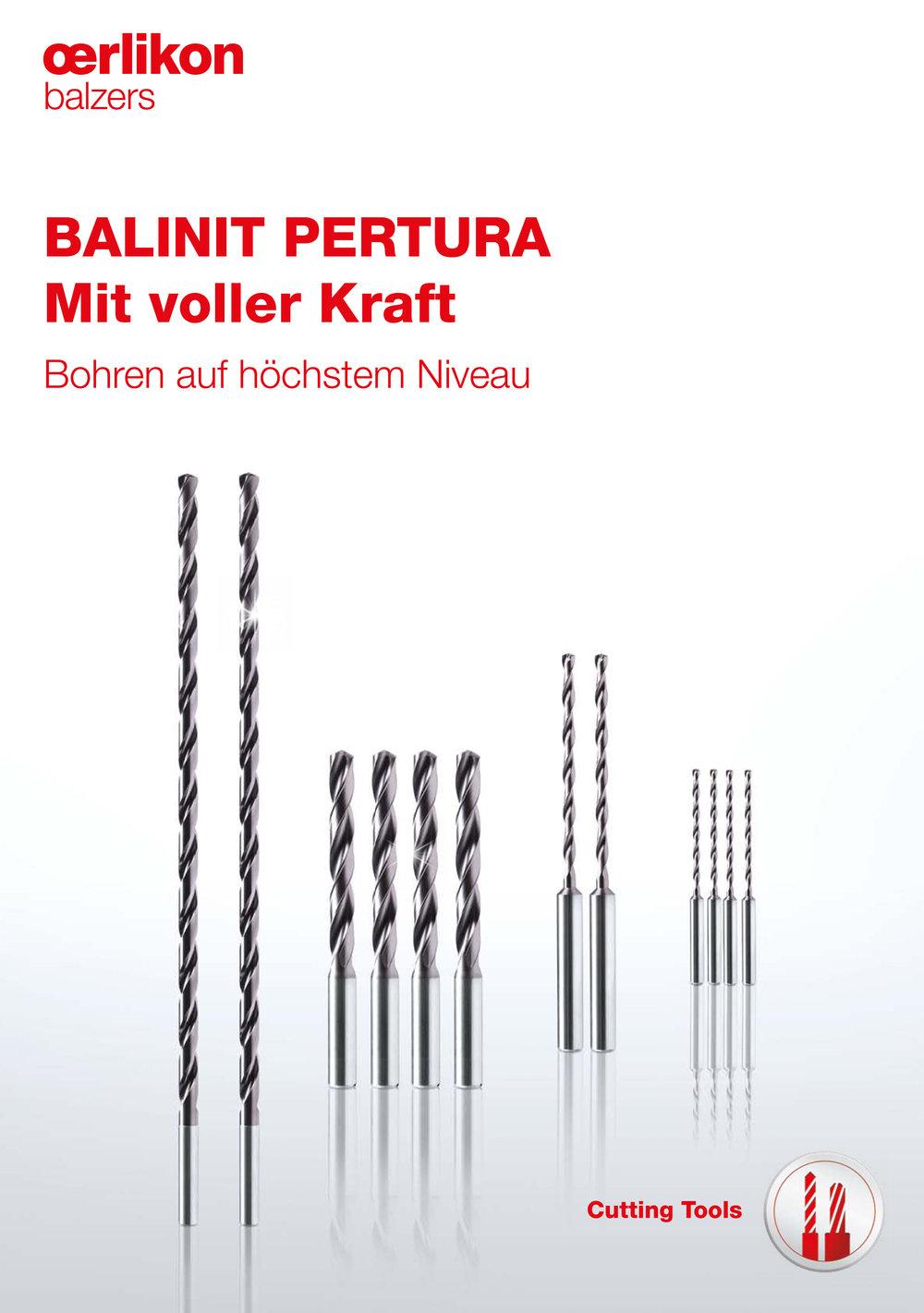 Produktbroschüre BALINIT PERTURA - Oerlikon Balzers