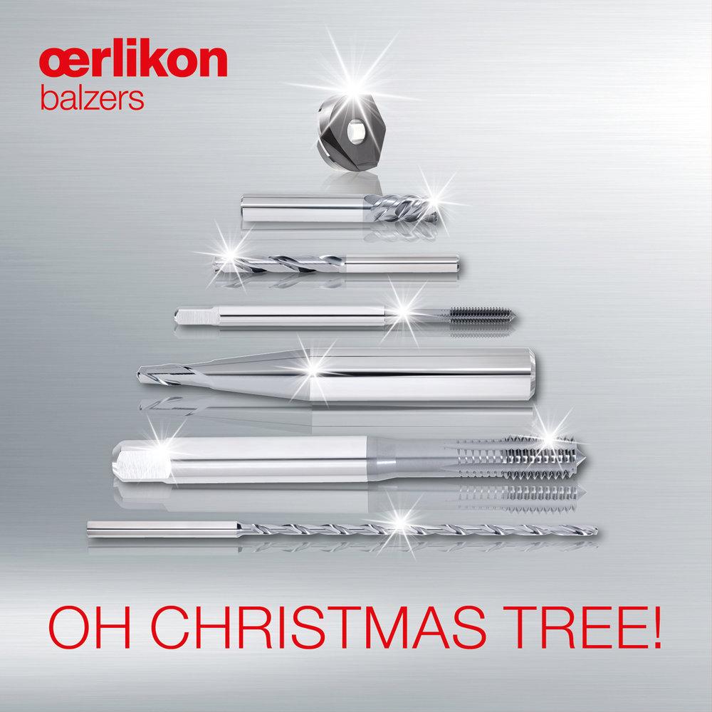 Oerlikon Balzers - Facebook Ad 5 - Weihnachten