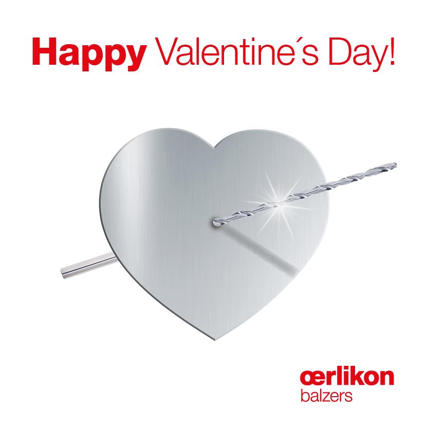 Oerlikon Balzers - Facebook Ad 1 Valentinstag