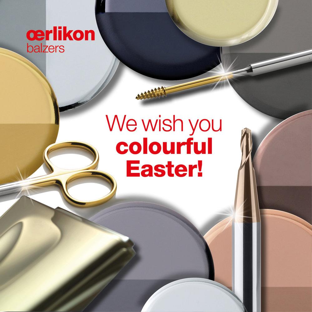 Oerlikon Balzers - Facebook Ad 2 - Ostern