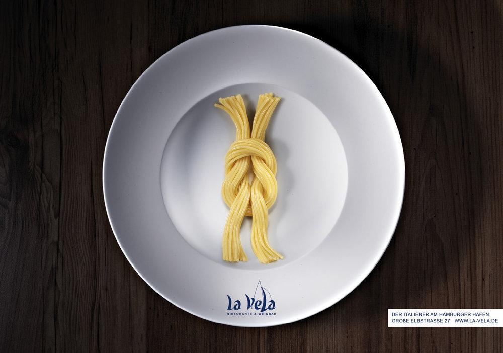 La Vela Ristorante - Kreuzknoten - Plakat 3