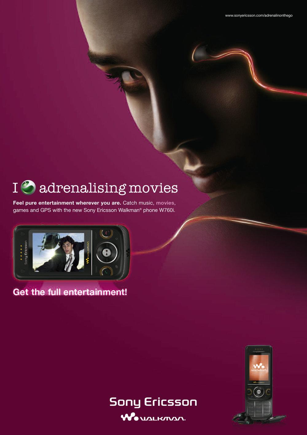 Sony Ericsson POS Plakat 1