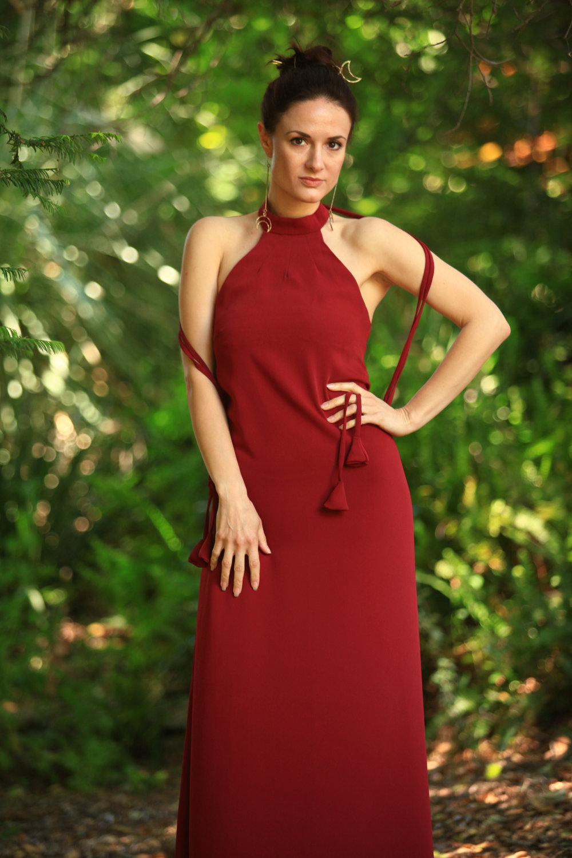 Red Stella Dress by Annaborgia