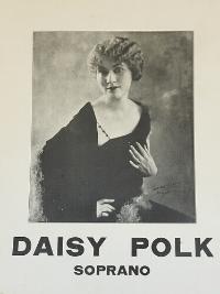 Miss Daisy Polk circa 1917