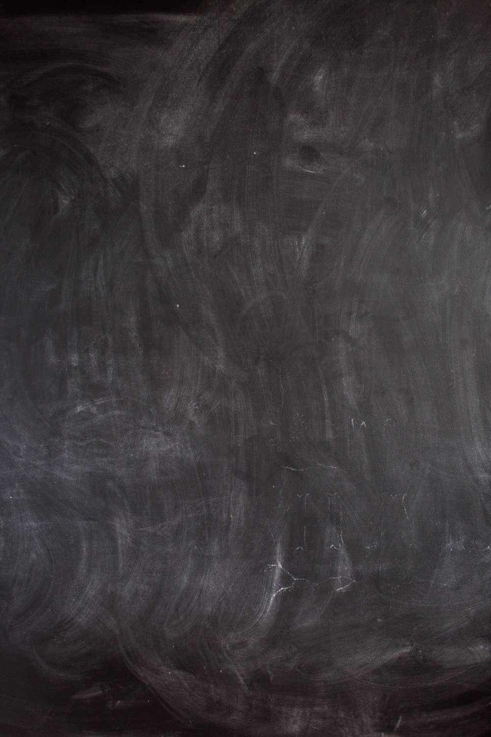 The chalkboard in Dana's studio where she has created most of her work.