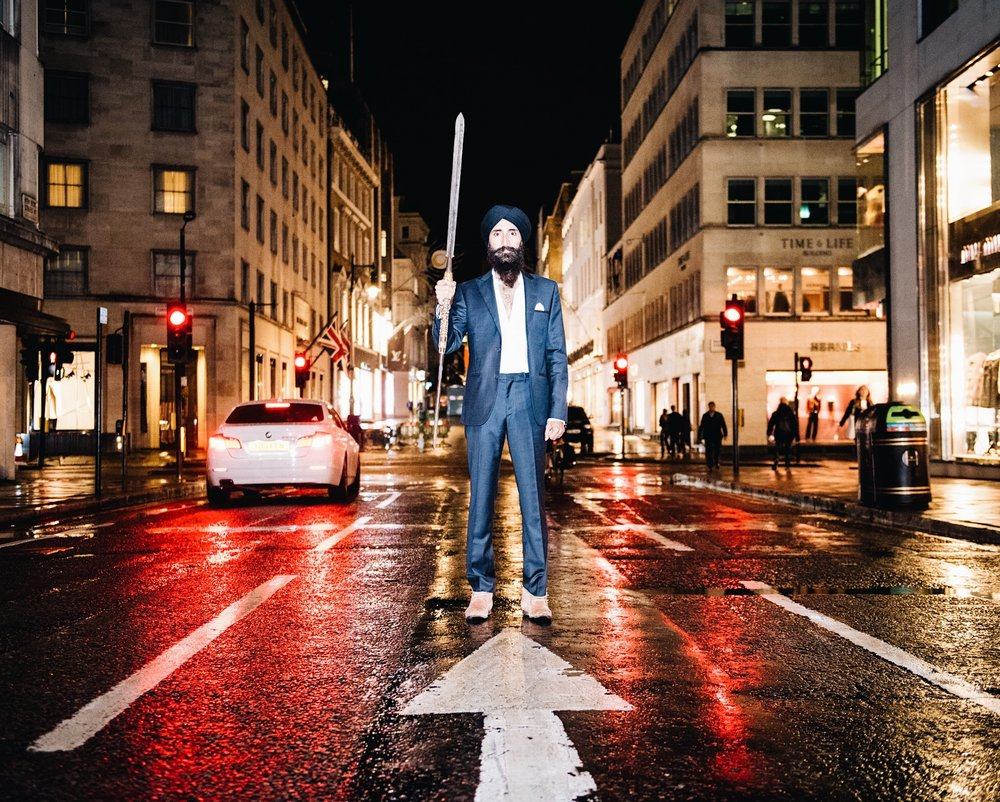Designer & Actor Waris Ahluwalia