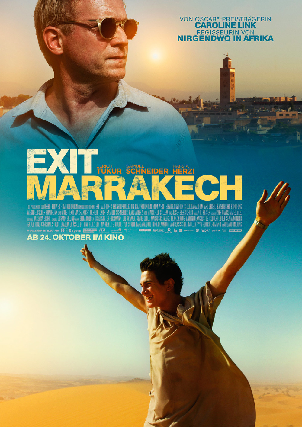 "Studiocanal<a href=""/exit-marrakech"">→</a><strong>Adaption</strong>"