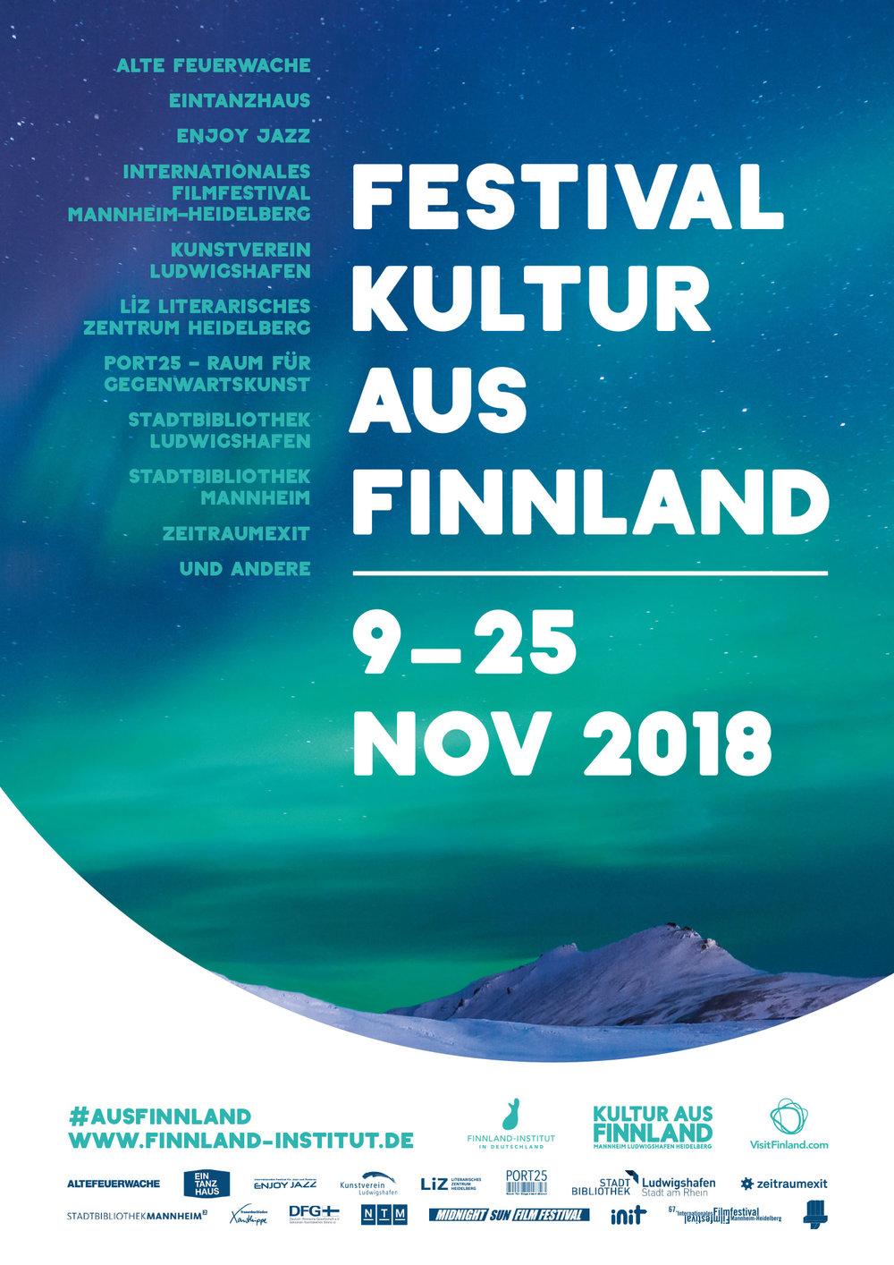 Kunde: Finnland Institut // Kreation