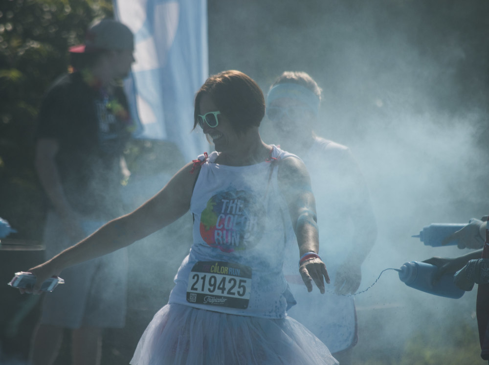 the color run, south portland, july 2016