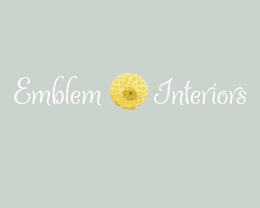 Emblem Interiors brand identity and website