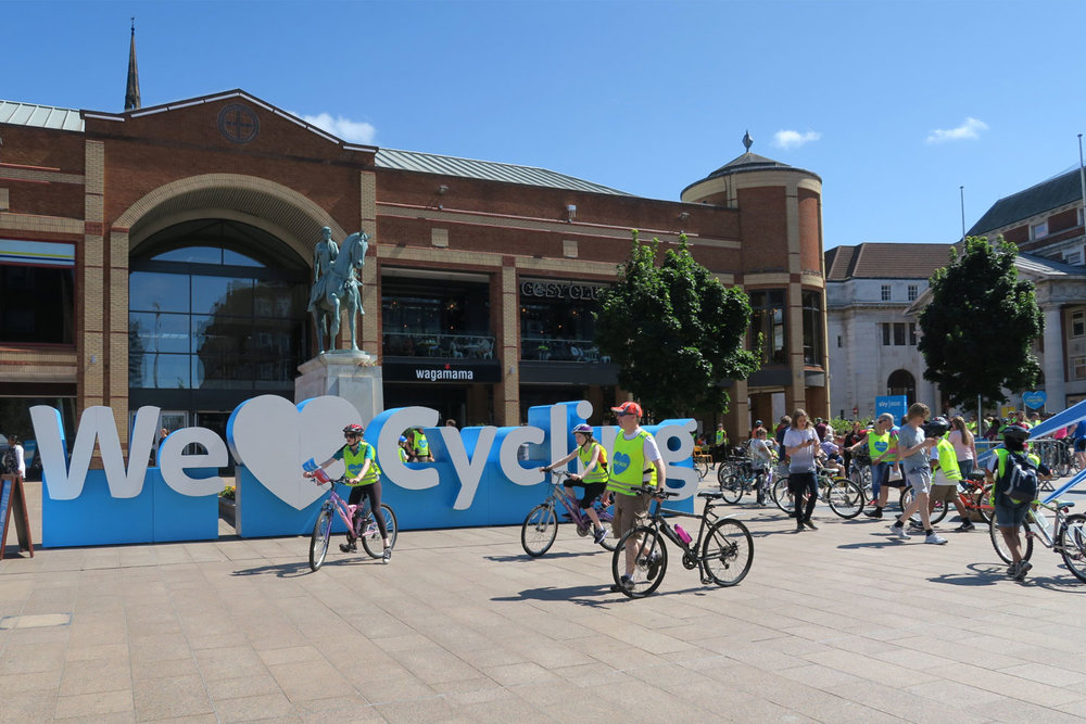 Coventry's Sky Ride 2016
