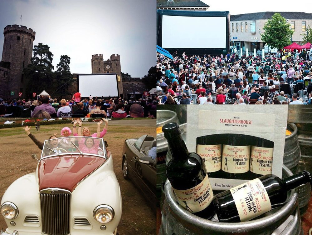A few highlights from the Warwick Rocks Food and Film Festival, I did the branding and helped to organise the festival.