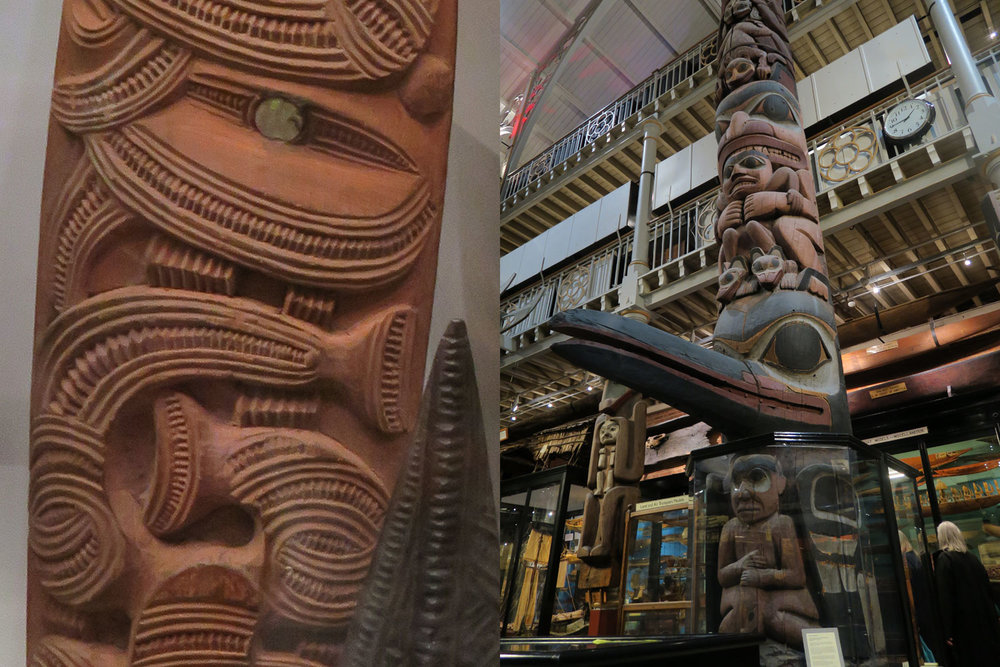 Maori art, totem poles and anthropological finds galore at the Pitt Rivers museum