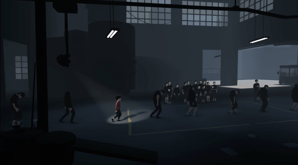 Perfecting a zombie walk. 'INSIDE' by Playdead, 2016