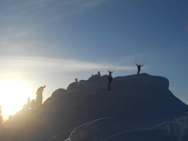 Ski touring Canada