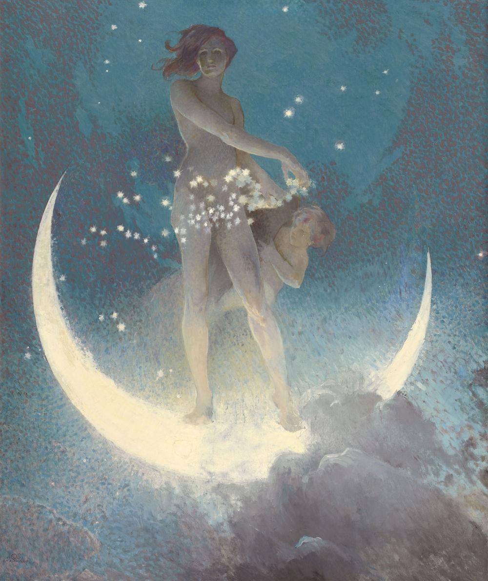 Spring Scattering Stars  by Edwin Blashfield, 1926