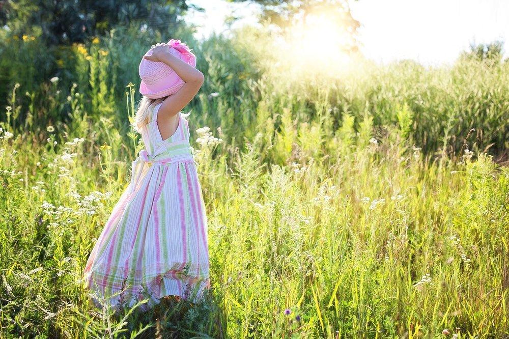 Little Girl in Dress in Wildflowers_1280.jpg