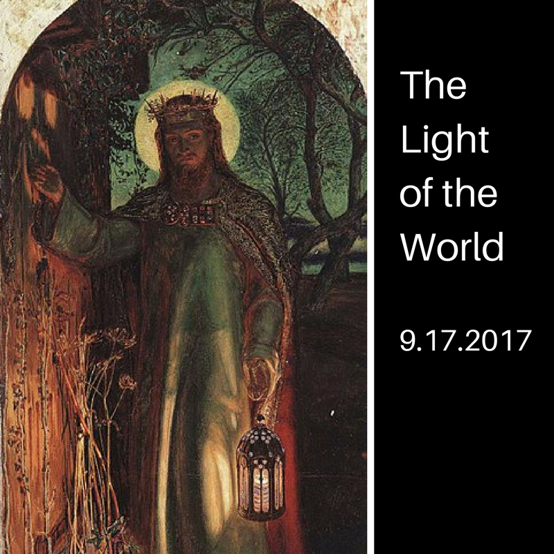 Light of the World - By: Gord RawlinsPlease click on picture for slides.