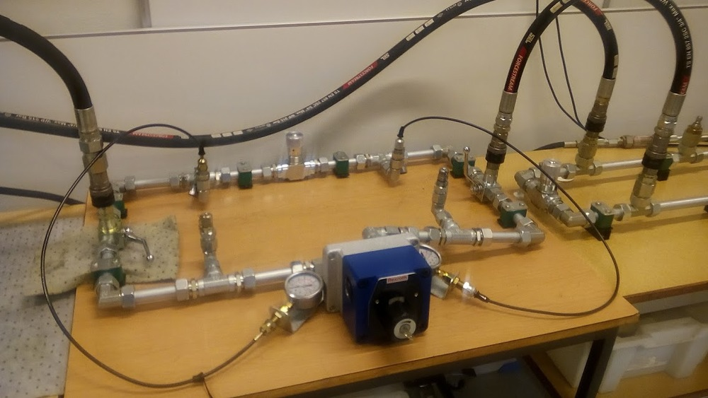 Lab i faget hydraulikk
