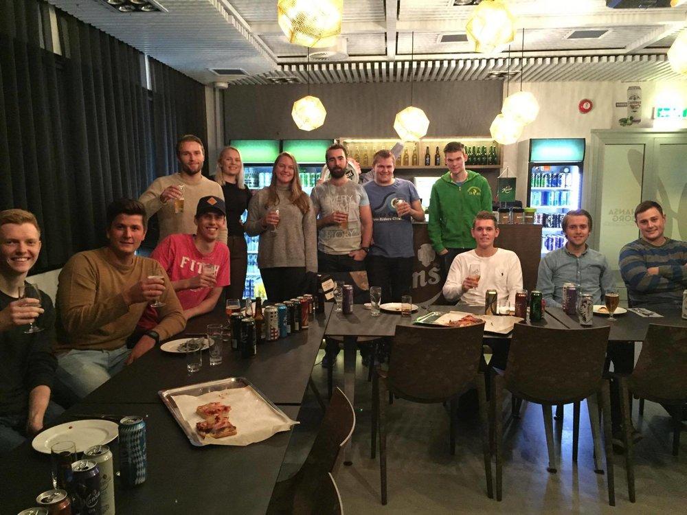 Omvisning på Hansa Borg Bryggeri   Oct 19, 2016