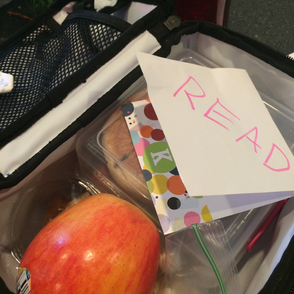 Lunchboxes and love notes.