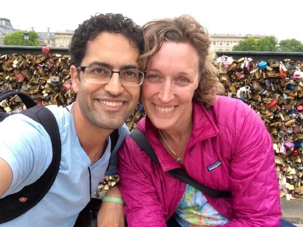 In love in Paris, June, 2015