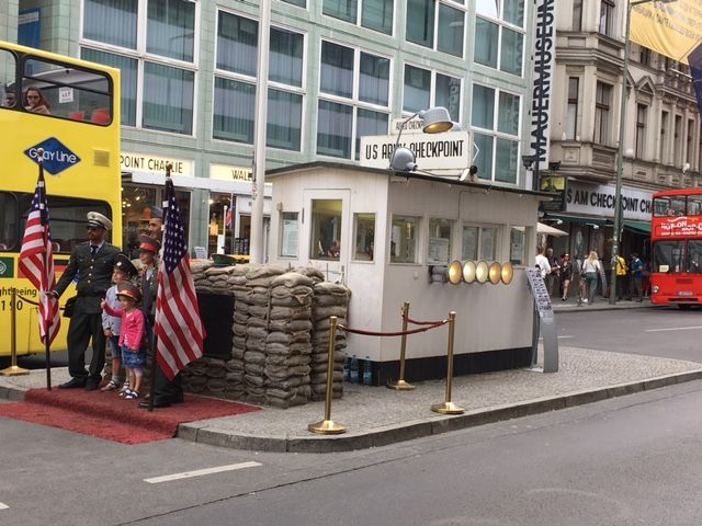 Checkpoint Charlie, home of the infamous tank stand-off