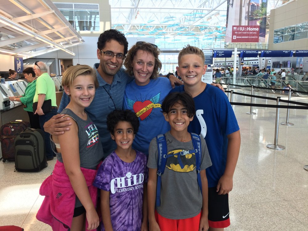 An excited B-Town Bunch headed to Germany earlier this summer