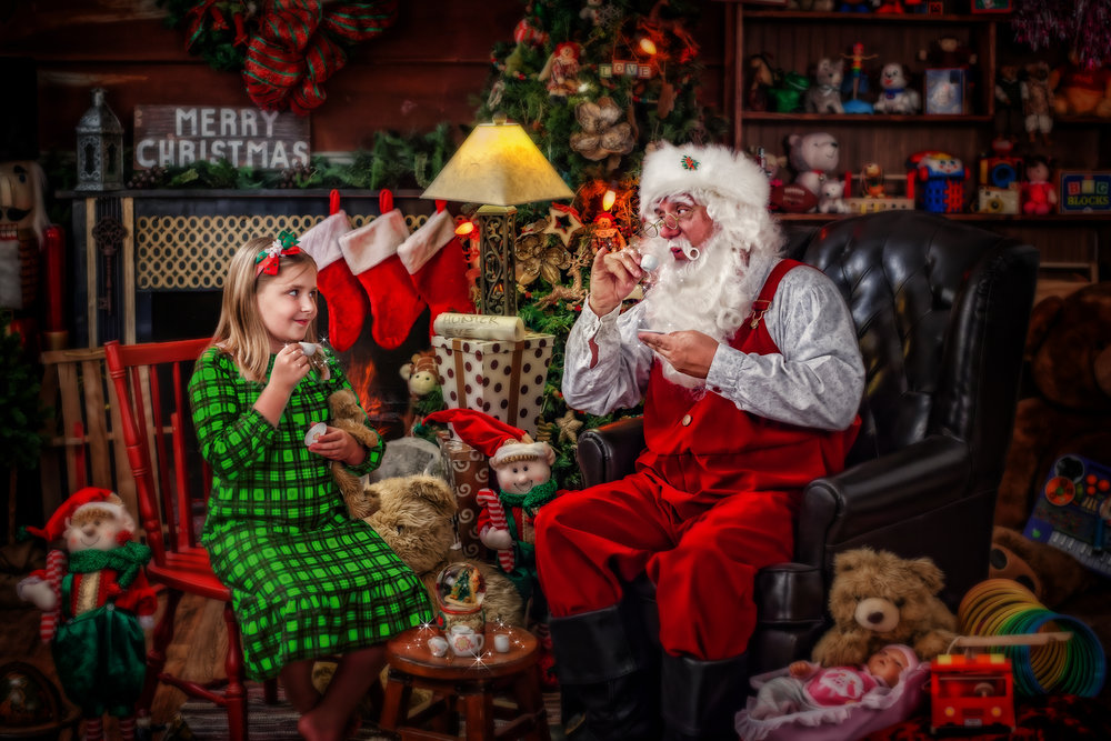 """Tea Time"" with Santa"