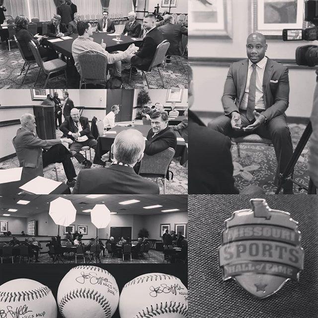 Missouri Hall of Fame Inductees 2019 - Press Room