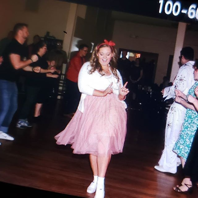 Grease lightning!!! #dancewithmesavoy #handjive #sockhop #backofthecamera