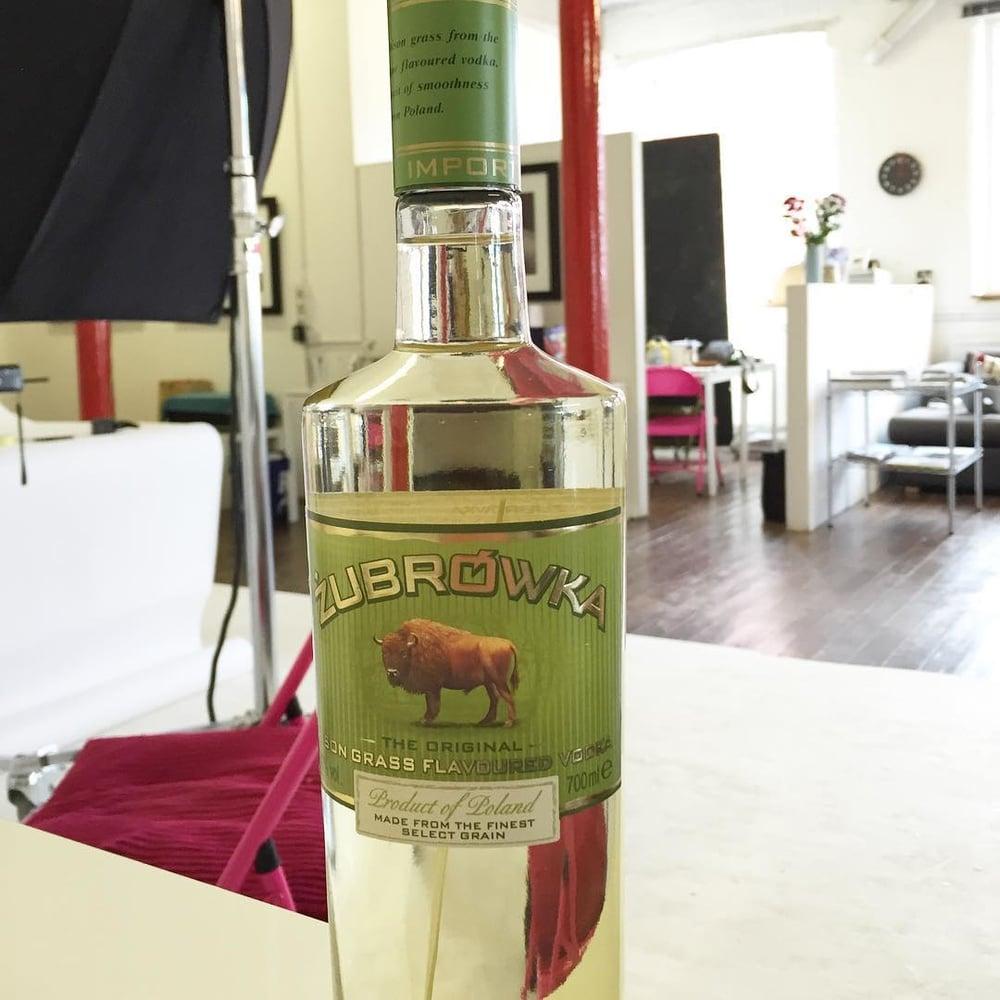 Today'shoot for Zubrowka. Vodka #zubrowka